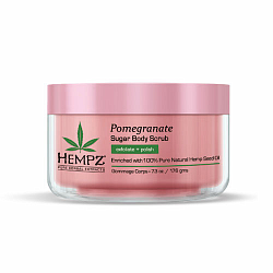 Скраб для тела сахар и гранат / Hempz Body scrub sugar & pomegranate 176 гр