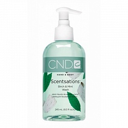 Лосьон для рук и тела / CND Creative Scentsations  Birch & Mint 245 мл