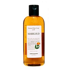 Шампунь с календулой / Lebel Natural Hair Soap Shampoo Marigold 240 мл