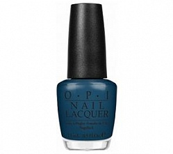 Лак для ногтей z16 / OPI Ski Teal We Drop