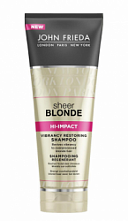 Шампунь восстанавливающий / John Frieda Sheer Blonde - Hi-Impact 250мл