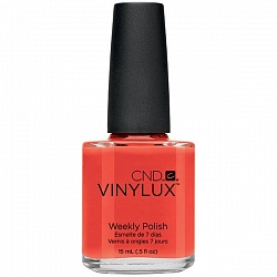 Лак для ногтей / CND Vinylux Weekly Polish Electric Orange № 112 15мл