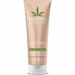 Гель для душа Бодрящий кокос / Hempz Coconut Fusion Energizing Herbal Body Wash 250 мл