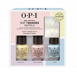 "Набор / OPI ""Soft Shades Trio Pack"""