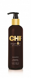 Восстанавливающий шампунь с маслом арганы / CHI Argan Oil 355мл