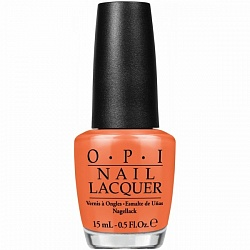 Лак для ногтей NLC33 / OPI Orange You Fantastic! 15 мл