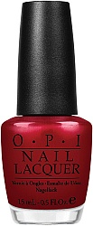 Лак для ногтей NLG14 / OPI Danke-Shiny Red
