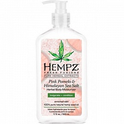 Молочко Помело и гималайская соль / HEMPZ HERBAL Body Pink Moisturizer Pomelo & Himalayan Sea Salt Herbal Body 500 мл