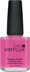 Лак для ногтей / CND Vinylux Weekly Polish  Hot Pop Pink № 121 15мл